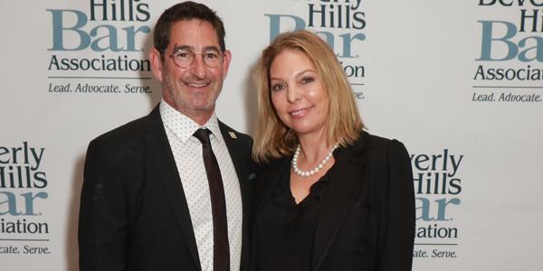 Richard Kaplan and Nina Marino