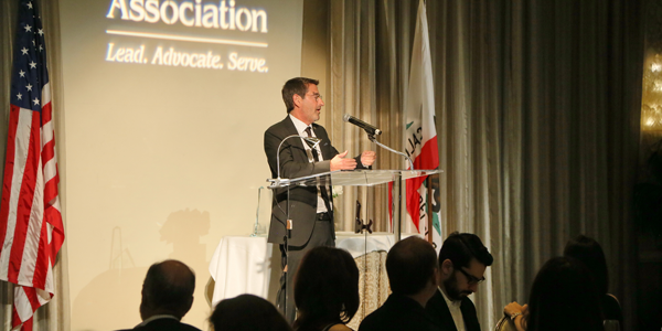 Richard Kaplan Speaking at the BHBA Awards Event